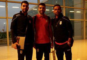 فوتبالیستهای کشورمان وارد اردن شدند+عکس