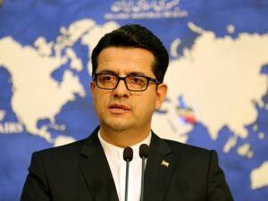 سید عباس موسوی سخنگوی وزارت امور خارجه - کراپشده