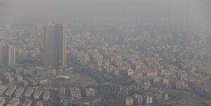آمار روزهای سالم پایتخت در سراشیبی سقوط