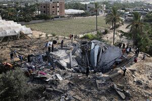 حملات رژیم صهیونیستی به مناطق مسکونی در غزه