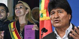 آمریکا رئیسجمهور خودخوانده بولیوی به رسمیت شناخت