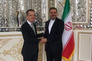 دیپلماتهای بلژیکی و سوئدی در تهران