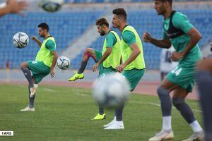 عکس/ آخرین تمرین تیم ملی پیش از دیدار با عراق