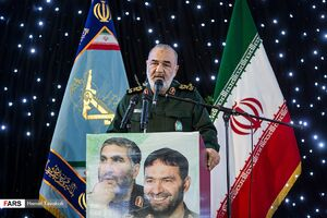 عکس/ مراسم گرامیداشت شهید تهرانی مقدم و شهدای هوافضای سپاه