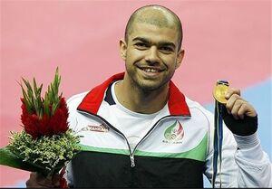 حراج مدال المپیک کرمی به نفع زلزلهزدگان