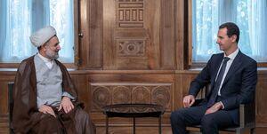 هیأت پارلمانی ایران با بشار اسد دیدار کرد +عکس