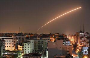 شلیک یک راکت از نوار غزه به سمت مناطق صهیونیستنشین