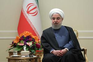عکس/ دیدار عیدانه اعضای هیئت دولت و مسئولین با روحانی