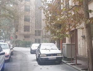 بارش اولین برف پائیزی در تهران