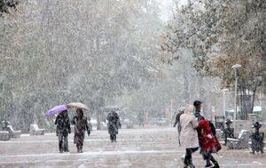 سرمای امسال آغاز شد/ بارش برف و باران در اکثر استانهای کشور