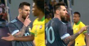 مسی - برزیل و آرژانتین