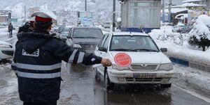 «برف» معابر تهران را مسدود کرد +جزئیات