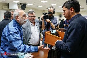 عکس/ نهمین دادگاه اتهامات علی دیواندری