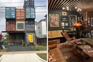 ساخت خانه رویایی با کانتینر +عکس