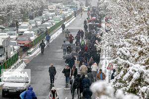 عکس/ شهرداری مردم را پیاده به خانه فرستاد