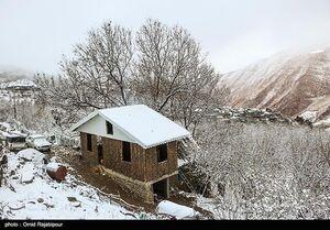 عکس/ اولین برف پاییزی در ییلاقات رودسر