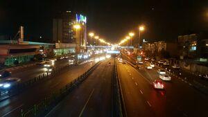 وضعیت عادی در خیابانهای تهران
