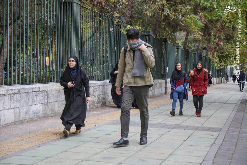 خیابان انقلاب - دانشگاه تهران