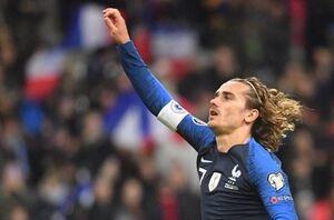 گریژمان در جمع ۸ گلزن برتر تاریخ فرانسه