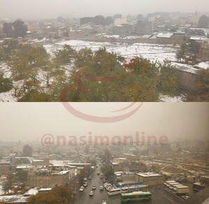 عکس/ بارش برف در تهران