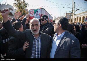 عکس/ تشییع باشکوه پیکر شهید سرگرد ایرج جواهری