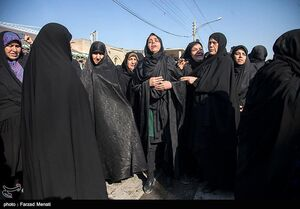 تشییع پیکر شهید سرگرد ایرج جواهری