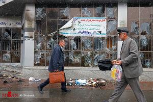 عکس/ اغتشاشات اشرار به بهانه اعلام نرخ جدید بنزین در شهریار و استان البرز