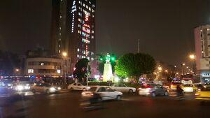 عکس/ آرامش شبانه تهران با پایان آشوبها