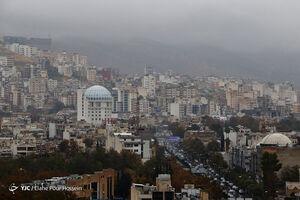 عکس/ اولین باران پاییزی در شیراز