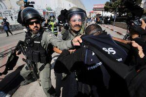 حمله نظامیان اسرائیلی به خبرنگاران