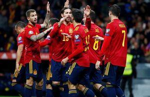 رکورد فوقالعاده تیم ملی اسپانیا