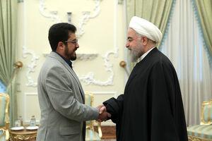 تقدیم استوار نامه سفیر جدید یمن به دکتر روحانی