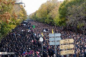 عکس/ قیام مردم تبریز علیه «اغتشاشگران»
