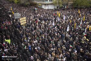عکس/ خروش سراسری مردم ایران علیه اغتشاشگران