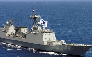 ارسال یک ناوشکن کره جنوبی به سواحل غربی یمن