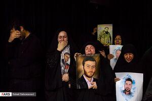 عکس/ وداع با پیکر ۲ شهید اغتشاشات تهران