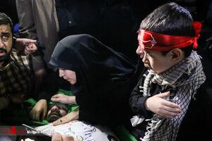 فیلم/ قول فرزند ۷ ساله شهید اغتشاشات تهران به پدرش