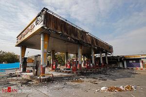 فیلم/ اغتشاشگران چگونه باعث مرگ کارگر پمپ بنزین شدند؟