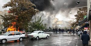 آتش زدن 80 فروشگاه زنجیرهای در اغتشاشات بنزینی/ 170 میلیارد تومان خسارت وارد شد