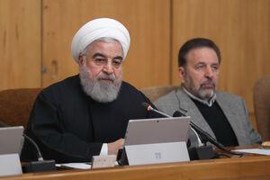 تشکر روحانی از پیام تسلیت مقام معظم رهبری