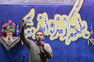 فیلم/ مداحی امیر عباسی در مراسم وداع با شهدای امنیت