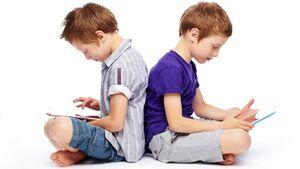 کودکان فضای مجازی