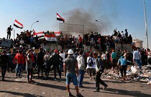 ۲۴۰۰ بازداشتی در جریان اعتراضات عراق آزاد شدند