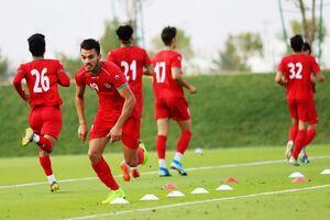 عکس/ آخرین تمرین شاگردان استیلی پیش از دیدار با قطر