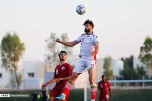 عکس/ دیدار تدارکاتی امیدهای ایران مقابل قطر