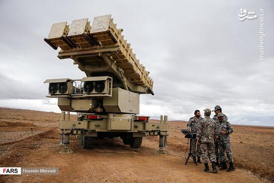 فیلم/ رزمایش پدافند هوایی در شرایط نزدیک به رزم