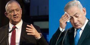 گانتز خواستار استعفای نتانیاهو از تمام پستهای وزارت شد