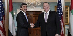 رایزنی ضد ایرانی پمپئو با همتای اماراتی در واشنگتن