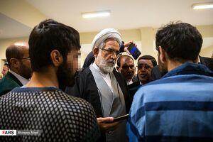 """عکس/ دادستان کل کشور در """"زندان بزرگ تهران"""""""