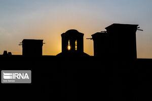 عکس/ عمارتی منحصر به فرد در کرمان